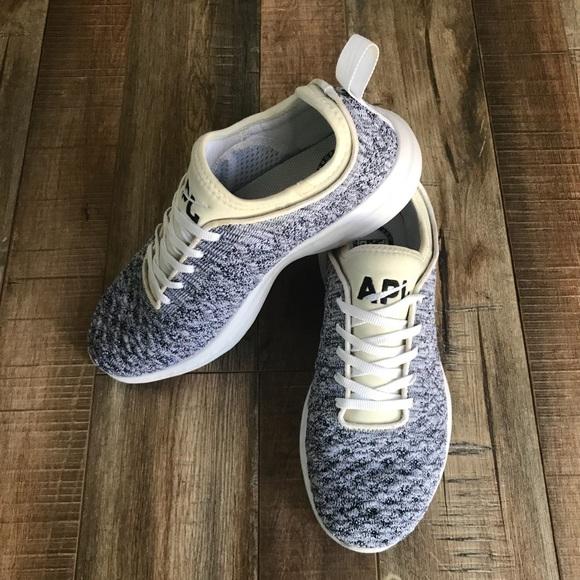 d645ba9f74f APL Shoes - APL Grey White Phantom Techloom Sneaker